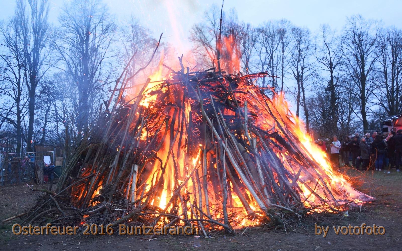 Osterfeuer 2016 Buntzelranch  143