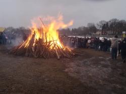 unser Osterfeuer auf Der Buntzel-Ranch